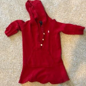 Ralph Lauren hooded dress